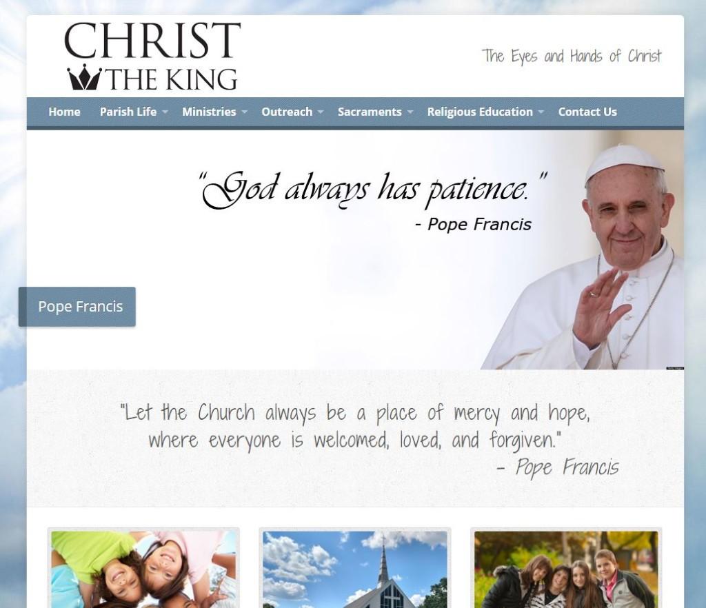 Christ the King Church Website