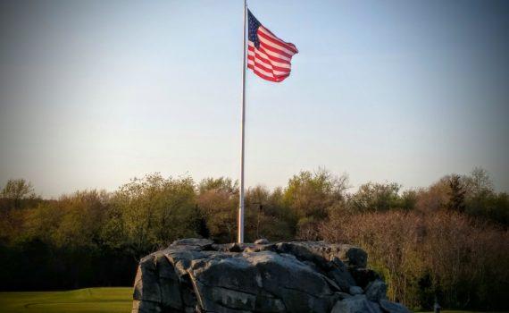 USA Flag (Jamestown Golf Course)