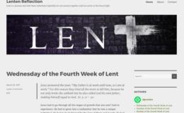 Lenten Reflections