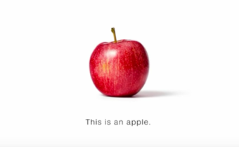 This is an Apple